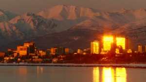 Anchorage, Alaska- largest city in Alaska.