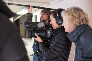 Director/Producer Mary Katzke, L, and Director of Photography Nara Garber, have worked together on documentary films since 2001.
